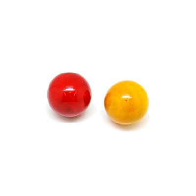 印度MAYA 小球手搖鈴-紅黃/單一尺寸