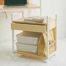 完美主義 移動式簡約附抽高機能檔案櫃/桌邊櫃(2色可選)