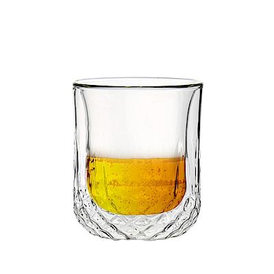 FUSHIMA富島 星宸系列雙層耐熱玻璃杯220ML