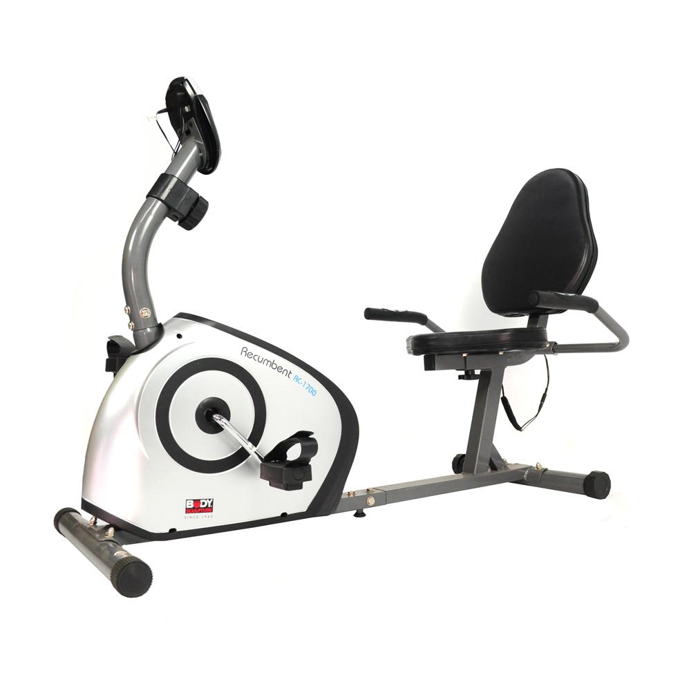 【BODY SCULPTURE】躺臥式磁控健身車