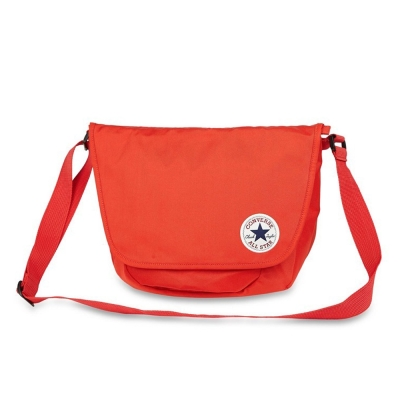CONVERSE-側背包10001441614-橘紅