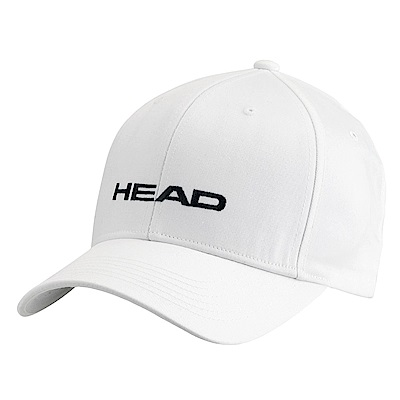 HEAD奧地利 素面可調式 運動帽/棒球帽/遮陽帽-白(2入) 287292