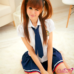 【Caelia】甜蜜蠱惑!青春無敵三件式學生服