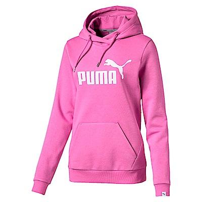 PUMA-女性基本系列No.1 Logo長厚連帽T恤-仙人掌花紫-亞規