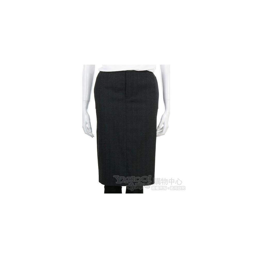 SCHUMACHER 深灰色及膝裙