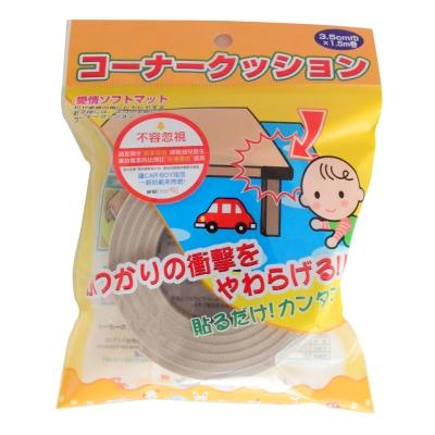 日本 CAR-BOY-尖角防護貼條-7入-土黃 @ Y!購物