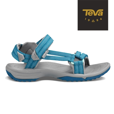 TEVA 美國 女 Terra FI 機能運動涼鞋 (城市藍)