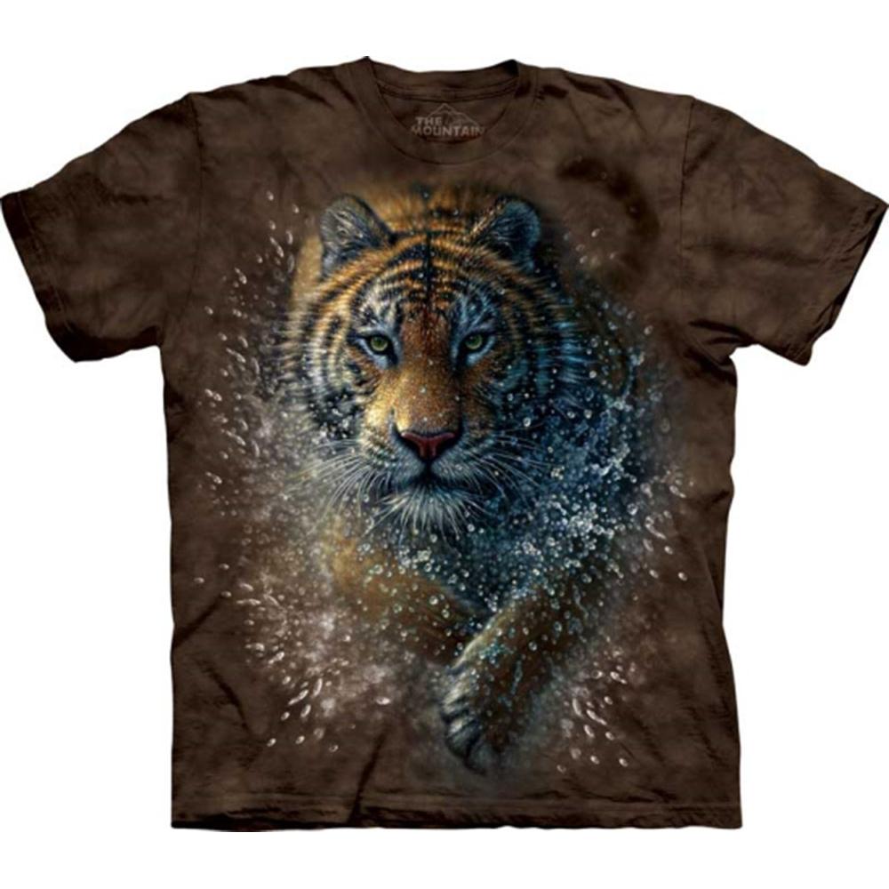 摩達客-美國The Mountain 濕棕虎 兒童版純棉環保短袖T恤