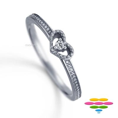 彩糖鑽工坊 10K鑽石戒指 小確幸系列