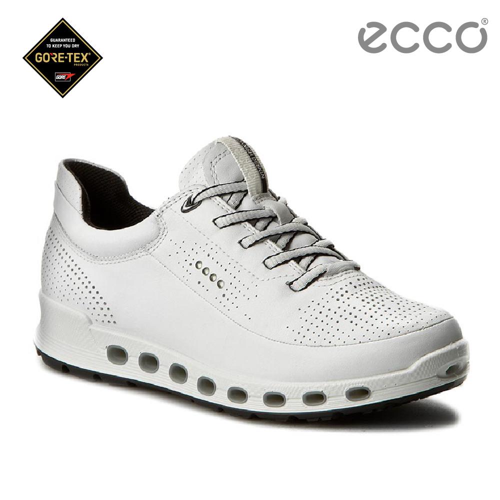 ECCO COOL 2.0 360度環繞防水休閒運動鞋-白