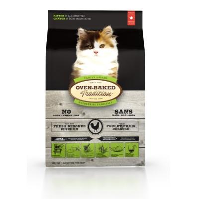 烘焙客Oven-Baked 幼貓 雞肉配方 10磅