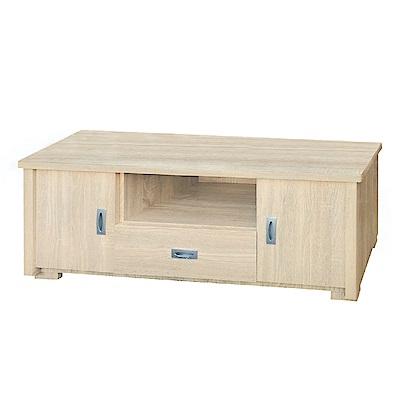品家居 莎帕里4尺長櫃/電視櫃(二色可選)-120.3x40.4x47cm免組