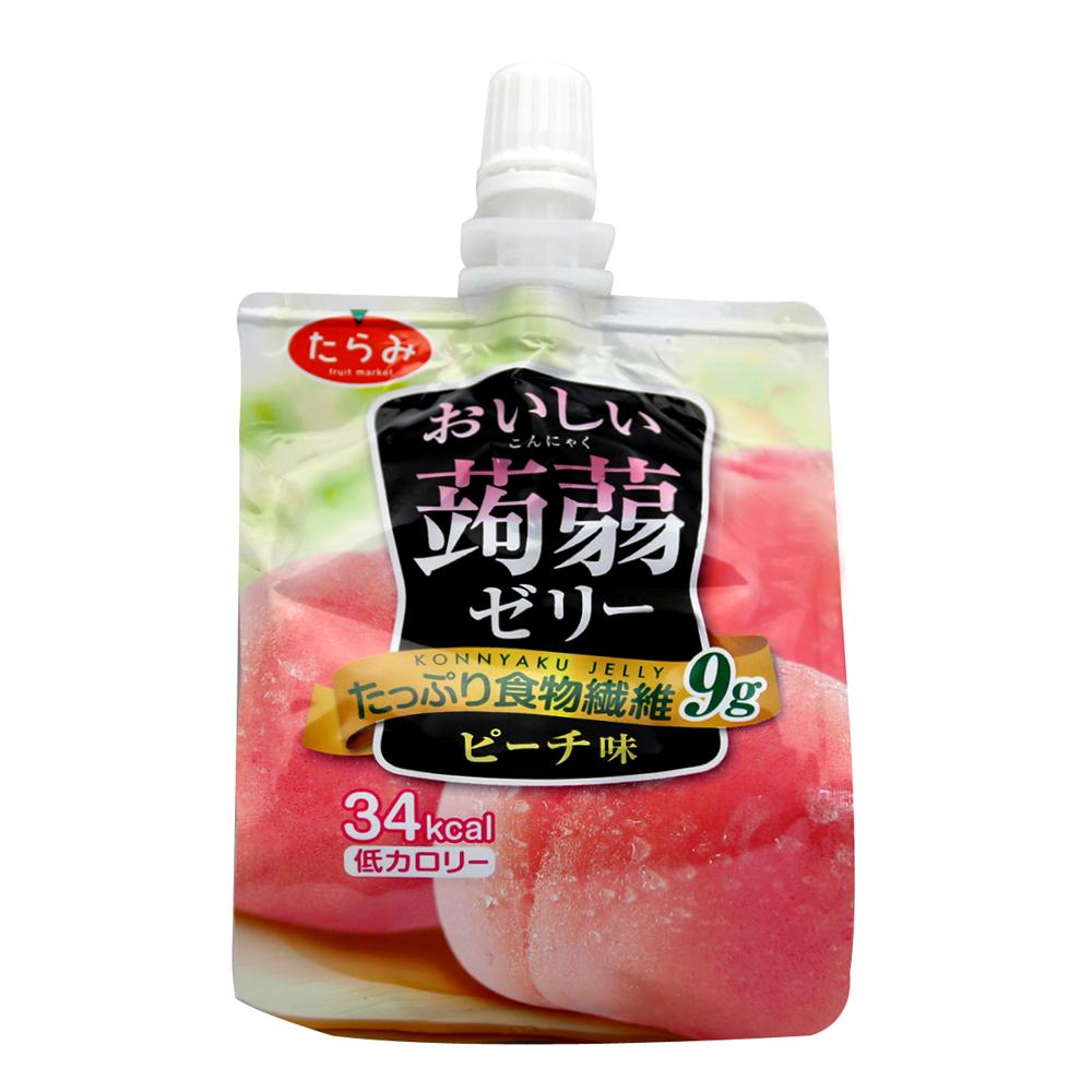 Tarami達樂美 果凍飲便利包-水蜜桃(150g)