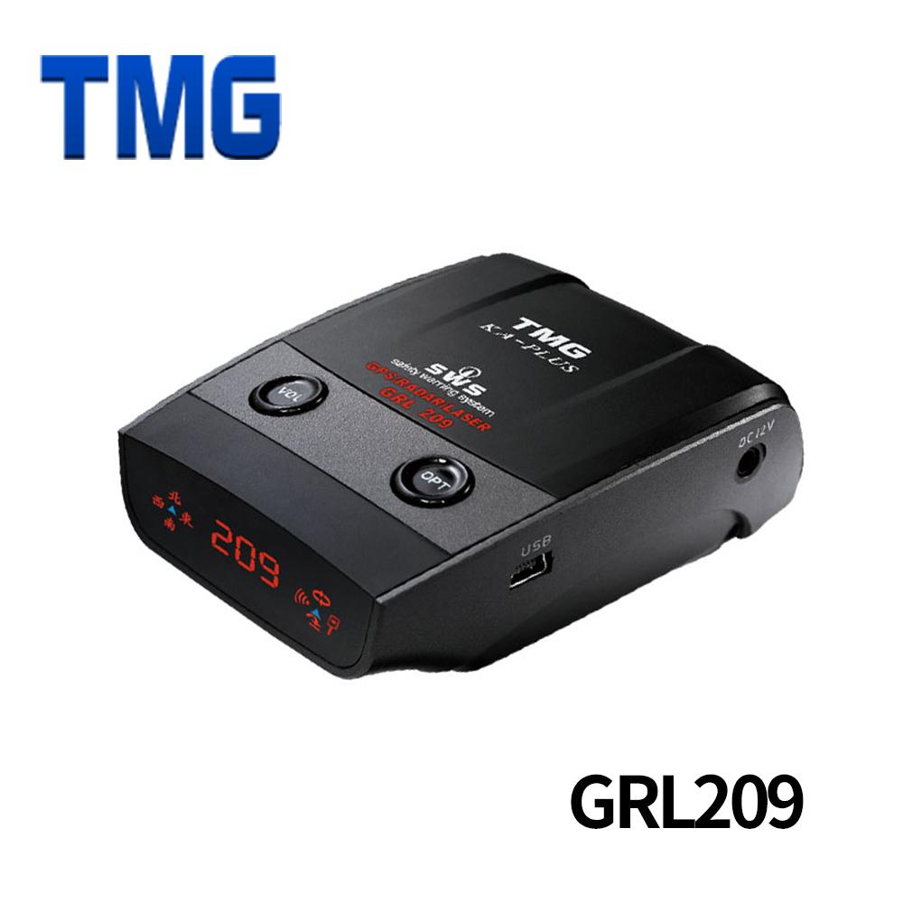 TMG 209GRL GPS 衛星定位 全頻測速器/三合一/免安裝