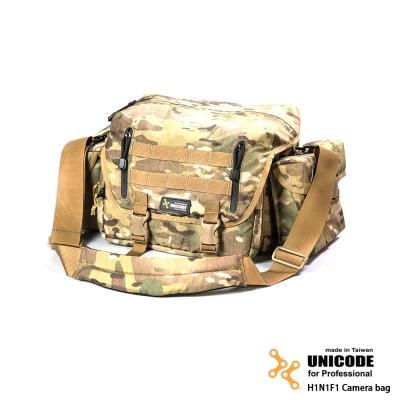 UNICODE H1N1F1 Camera Bag 攝影包 基本款-多地型迷彩