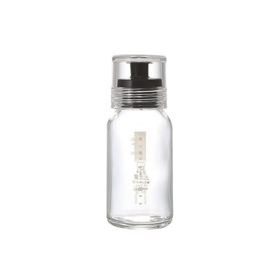 HARIO-斯利姆黑色調味瓶120ml / DBS-120B