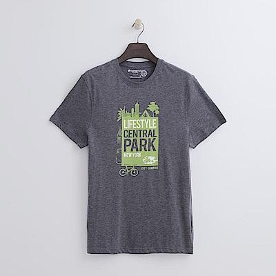 Hang-Ten-男裝-有機棉-樂活城市T恤