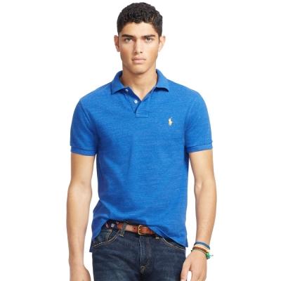 Ralph Lauren 短袖 POLO 素面 藍色 331