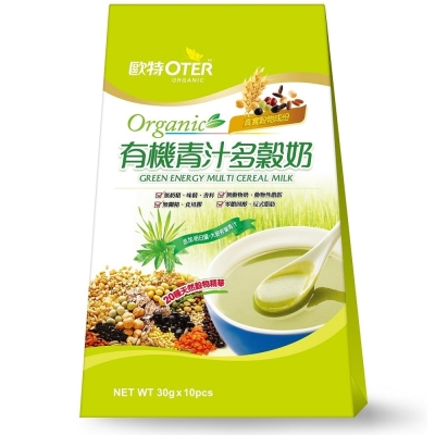 歐特 有機青汁多穀奶(30gx10包)