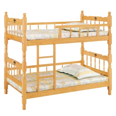 愛比家具 耐吉3.2尺雙邊實木雙層床