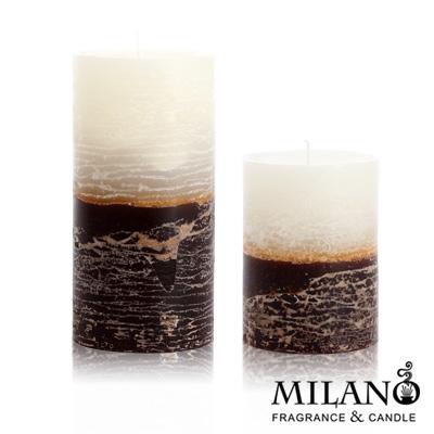 Milano  糖果撞色香氛手工蠟燭組(檀香木)