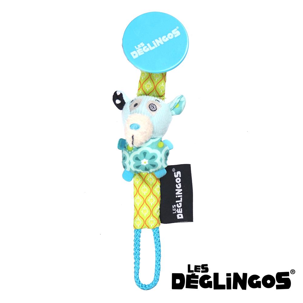 Les Deglingos 立體玩偶奶嘴夾-北極熊 (iLLicos)