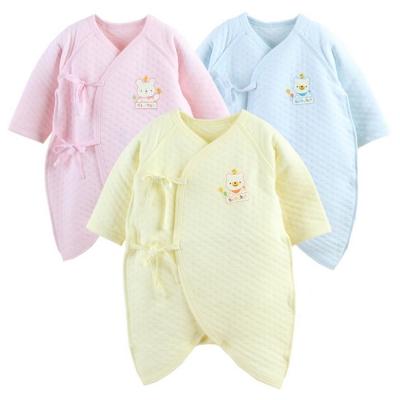 日本熱銷保暖連身長袖空氣棉蝴蝶衣(【2件入】