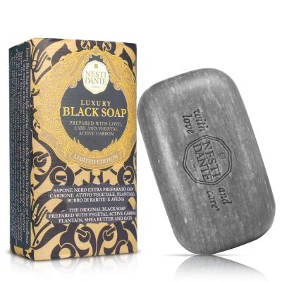 Nesti Dante  義大利手工皂-尊寵黑金淨化皂(250g) * 2入
