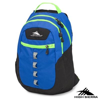 美國 High Sierra 29.5L OPIE 多功能 電腦後背包 藍綠