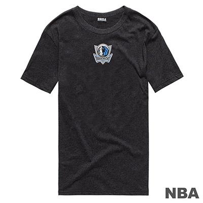 NBA-達拉斯小牛隊前後印花短T-深麻灰 (男)