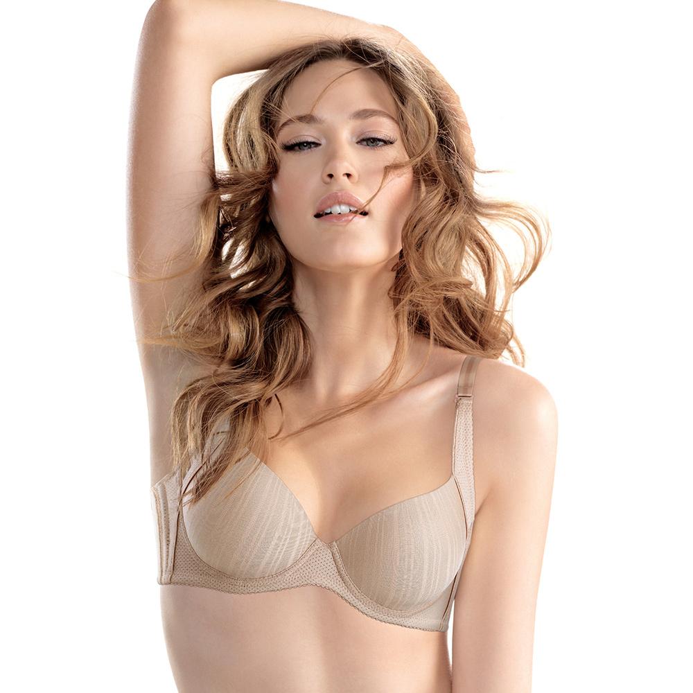 黛安芬-T-Shirt Bra輕軟鋼圈無痕款B-C罩杯內衣(經典裸)