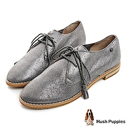 Hush Puppies CHARDON 牛津鞋-金屬灰
