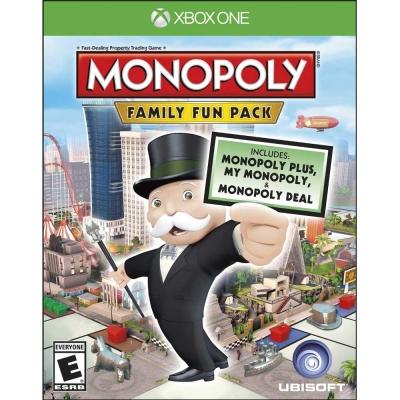 地產大亨:家庭歡樂包 Monopoly Family Fun -XBOX ONE 英文美版