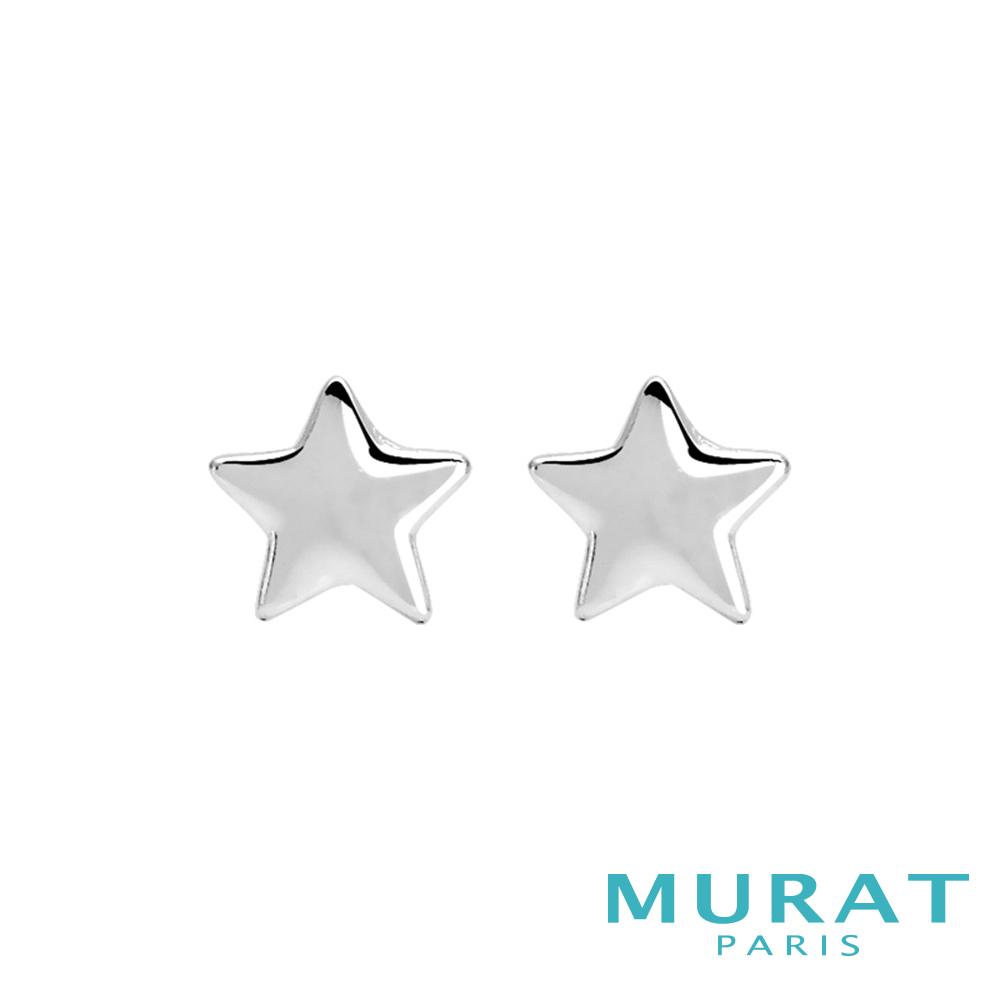 MURAT Paris米哈巴黎 簡約小星星耳環