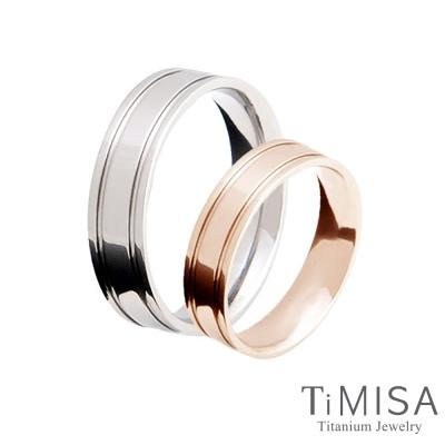 TiMISA 戀愛軌跡-細版(<b>3</b>色可選) 純鈦對戒