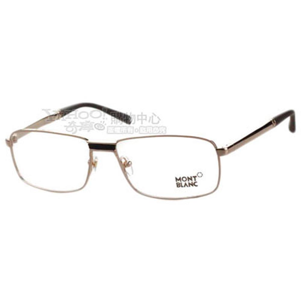萬寶龍 MONTBLANC-時尚光學眼鏡(共2色)MB348