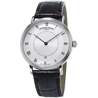 康斯登 CONSTANT  CLASSICS百年經典系列超薄腕錶 -39mm