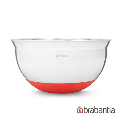 Brabantia 不鏽鋼調理缽1.6L-熱情紅