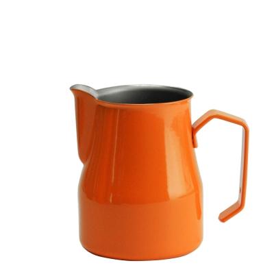 義大利MOTTA 2635專業拉花杯 350ml 橘色(HC7092OR)