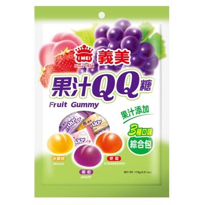 義美 綜合果汁QQ糖(176g)