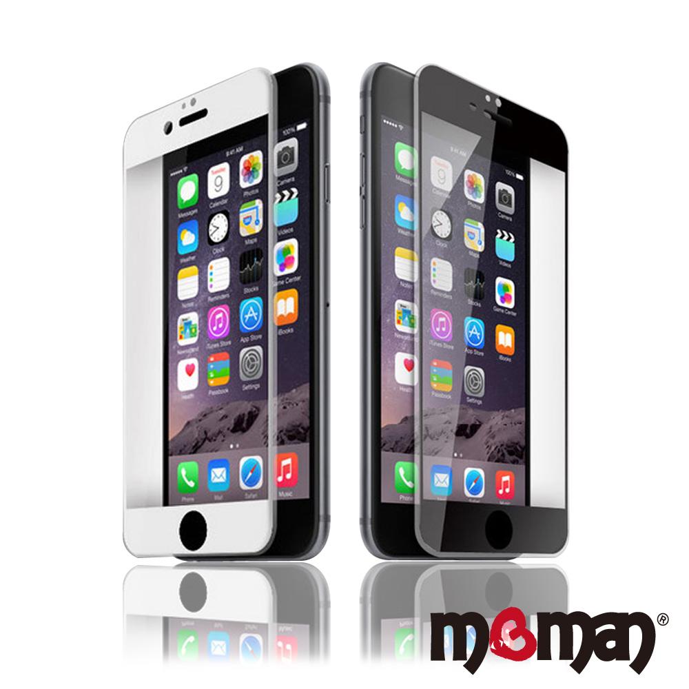Mgman iphone 6 plus / 6s plus 3D矽膠滿版玻璃螢幕保護貼