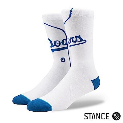 STANCE DODGERS HOME-男襪-休閒襪-MLB洛杉磯道奇隊主場球衣款
