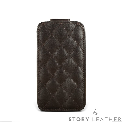 STORYLEATHER HTC 10 / U11PDA式上蓋菱格紋 客製化皮套