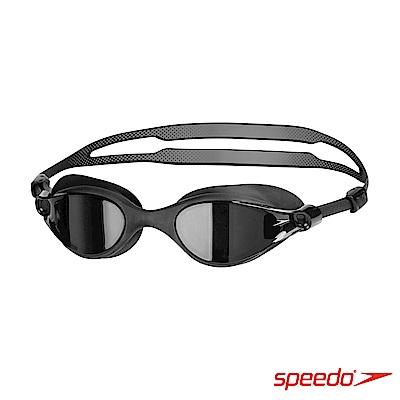 SPEEDO 成人運動泳鏡 V-CLASS 黑