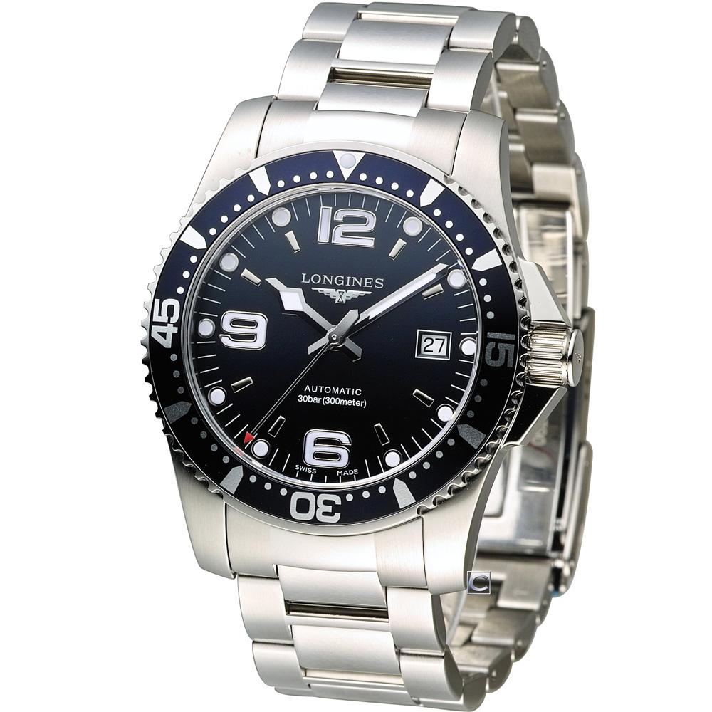 LONGINES 水鬼系列 機械潛水腕錶-藍/44mm