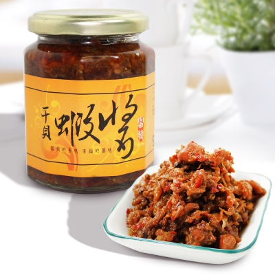 那魯灣 富發干貝蝦醬 5罐(內容量265g/罐)