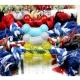 dyy》骨頭造型棉繩結玩具9cm顏色隨機出貨打發狗狗無聊時光 product thumbnail 1