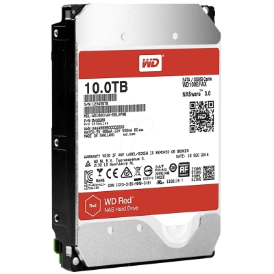 WD100EFAX 紅標 10TB 3.5吋NAS硬碟(NASware3.0)