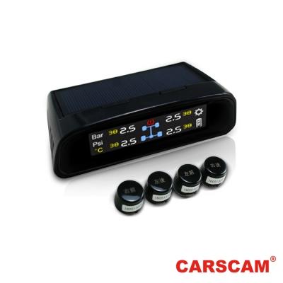 CARSCAM行車王 TP-400 太陽能無線胎壓偵測器