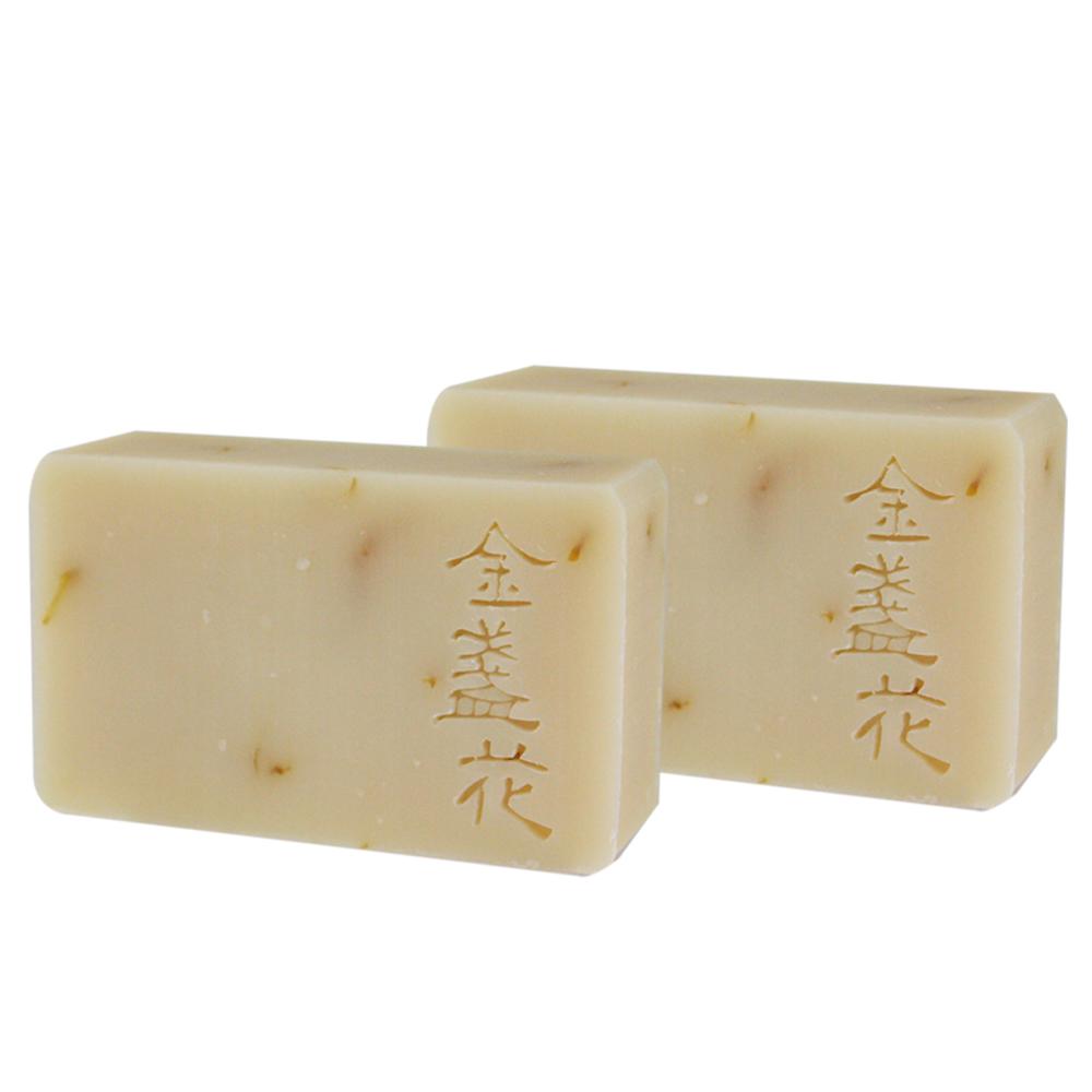 文山手作皂-金盞花洗顏皂(潔顏用)(100g)X2入組